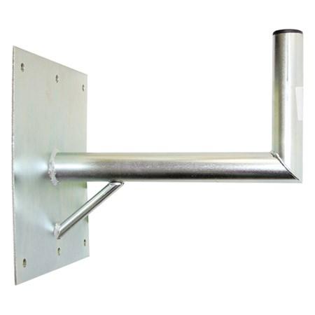 Anténní držák 35 na zeď se základnou 30x30cm a vzpěrou průměr 42mm výška 16cm