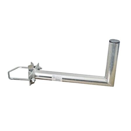Anténní držák 50 na stožár s vinklem rozteč třmenu 120mm průměr 42mm