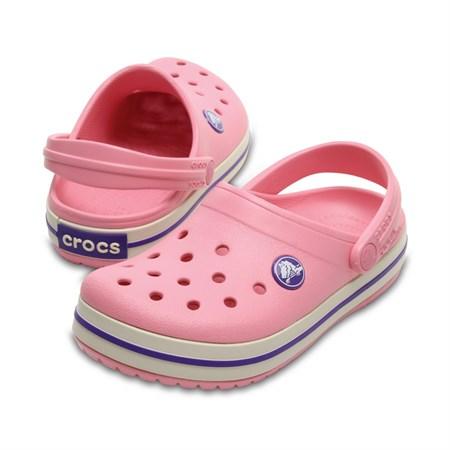 Boty Crocs Crocband Kids - Peony Pink/Stucco C10 (27-28)