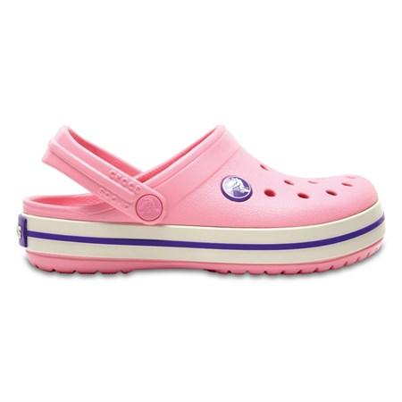 Boty Crocs Crocband Kids - Peony Pink/Stucco C13 (30-31)