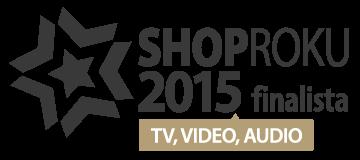 ShopRoku 2015: 2. místo v  kategorii TV, video, sat  je TIPA.EU!