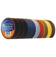 Izolační páska PVC 19/20m barevný mix 10ks