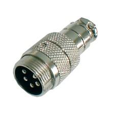 Konektor MIC kabel kov 5PIN šroubovací
