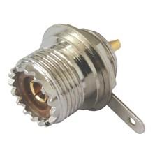 Zdířka UHF (PL) panel- upevňovací matice