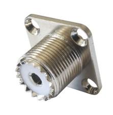 Zdířka UHF (PL) panel- upevňovací šroubky