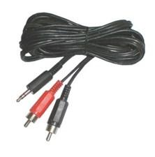 Kabel Jack 3.5 stereo - 2 x CINCH konektor  1,5m