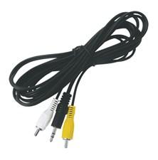 Kabel Jack 3.5 stereo - 2 x CINCH konektor  3,0m