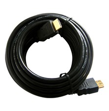 Kabel HDMI - HDMI  5m (gold,ethernet)