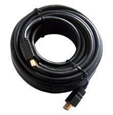 Kabel HDMI - HDMI 10m (gold,ethernet)