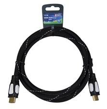 Kabel HDMI <-> HDMI 1,5M NYLON ECO