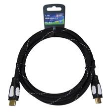 Kabel HDMI <-> HDMI 1,5M NYLON ECO