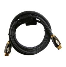 Kábel HDMI - HDMI 10m HQ (gold,ethernet,filtr) 4K