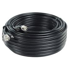 Kabel koaxiální RG59 + napájecí kabel DC, 20 m KÖNIG SAS-CABLE1020