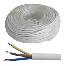 Kabel 3x1mm2 kulatý 230V H05VV-F (CYSY)