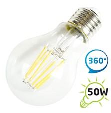 Žárovka LED A60 E27  6W retro bílá teplá TIPA
