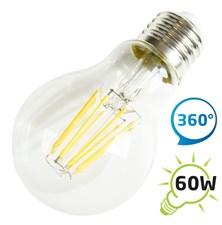 Žárovka LED A60 E27  8W retro bílá teplá TIPA
