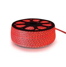 LED pásek 230V, 3528  60LED/m IP67 max. 4.8W/m červená, cena za 1m, zalitý
