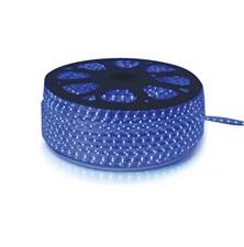 LED pásek 230V, 3528  60LED/m IP67 max. 4.8W/m modrá (cívka 100m) zalitý