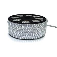 LED pásek 230V, 5050  60LED/m IP67 max. 14.4W/m bílá studená (cívka 50m) zalitý