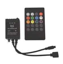 LED ovladač - RGB music kontroler pro led pásky