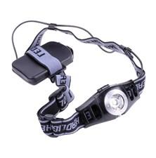 Svítilna  čelová LED 3W s regulací jasu