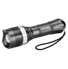 Svítilna LED 40lm, ZOOM, EXTOL LIGHT