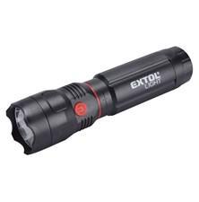 Svítilna LED 100lm CREE + 150lm COB s magnetem, EXTOL LIGHT