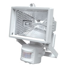 Reflektor 150W s PIR senzorem bílý