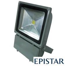 LED reflektor venkovní 100W/8000lm EPISTAR, MCOB, AC 230V, šedý