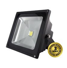 LED venkovní reflektor, 50W, 3500lm, AC 230V, černá