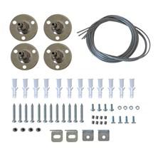 Závěsný systém pro LED světelný panel