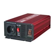 Měnič napětí 12V/230V  600W CZ sinusovka CARSPA