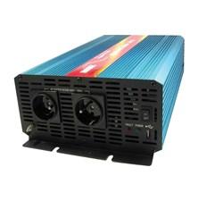 Měnič napětí 12V/230V 2000W CZ čistá sinusovka  CARSPA