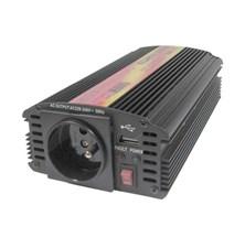 Měnič napětí 24V/230V  500W CZ  CARSPA