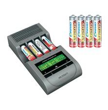 Nabíječka Charge Manager 410+4x AA a 4x AAA NiZN