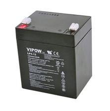 Baterie olověná  12V/ 4Ah  VIPOW bezúdržbový akumulátor