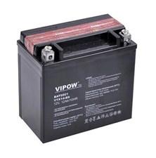 Baterie motocyklová 12V 12Ah Vipow motobaterie