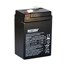 Baterie olověná   6V/ 4,5Ah  MOTOMA bezúdržbový akumulátor