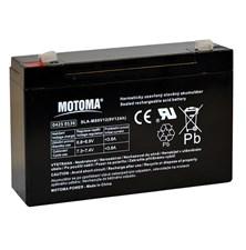 Baterie olověná 6V 12Ah MOTOMA