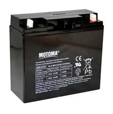 Baterie olověná  12V/20Ah  MOTOMA bezúdržbový akumulátor