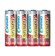 Baterie AA (R6) nabíjecí CONRAD NiZn 1500mAh, 1,6V (blistr 4ks)