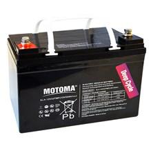 Baterie olověná  12V/33Ah  MOTOMA pro elektromotory