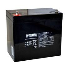 Baterie olověná 12V 55Ah MOTOMA pro elektromotory