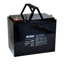 Baterie olověná 12V 75Ah MOTOMA pro elektromotory