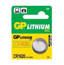 Baterie    CR1620 GP lithiová