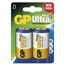 Baterie D (R20) alkalická GP Ultra Plus Alkaline R20