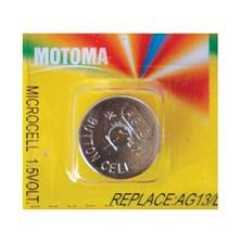 Baterie     AG13 (LR44) MOTOMA alkalická