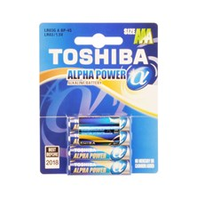 BAT ALPHA POWER LR03 4BP AAA TOSHIBA