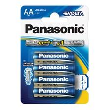 Baterie AA (R6) alkalická PANASONIC Evolta LR6 4BP