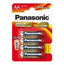 Baterie AA (R6) alkalická PANASONIC Pro Power LR6 4BP